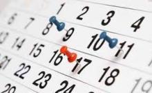 8 y 11 de febrero no lectivos por día de la enseñanza.